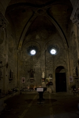 Eglise collégiale Saint-Pierre et Saint-Gaudens - English:  The narthex.