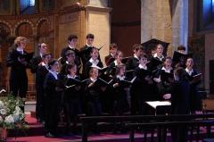 Eglise collégiale Saint-Pierre et Saint-Gaudens - English: Les Petits Chanteurs de Passy in concert in the collegiate church Saint-Pierre et Saint-Gaudens in Saint-Gaudens (Haute-Garonne), in 2010.