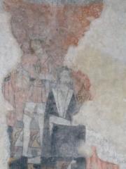 Eglise -  Adoration des Mages (fresques de l'eglise Saint Pierre de Saint Pé D'ardet)