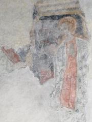 Eglise -  Nativité (cycle de l'enfance des Fresques de l'eglise Saint Pierre de Saint Pé D'ardet