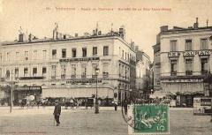 Café Bibent - English: Postcard of Toulouse, grand café Bibent