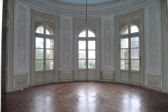 Château de Reynerie - English: Living room in rotunda of the castle of Reynerie in Toulouse