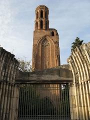 Ruines de l'église des Cordeliers - Français:   L\'Église des Cordeliers de Toulouse