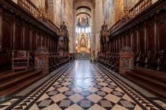 Eglise Saint-Sernin - Les stalles de la basilique Saint-Sernin à Toulouse