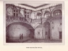 Hôtel Bernuy - English: 19th century drawings of Toulouse