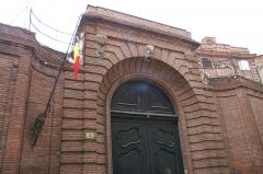 Hôtel Courtois de Viçoze dit aussi hôtel d'Espie - Français:   Consulat de Belgique à Toulouse.