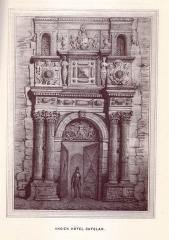 Hôtel Felzins - English: 19th century drawings of Toulouse