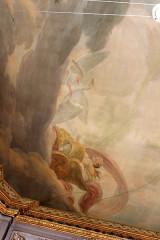 Ancien hôtel Jean du Barry - Français:   Plafond peint - Hôtel Dubarry / Toulouse