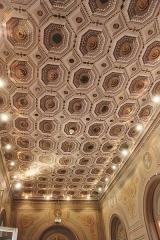 Ancien hôtel Jean du Barry - Français:   Plafond à caissons - Hôtel Dubarry / Toulouse