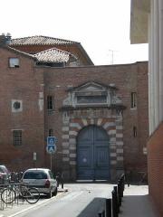 Ancien hôtel de Lestang - Français:   Académie de Toulouse. Ancienne entrée du rectorat.