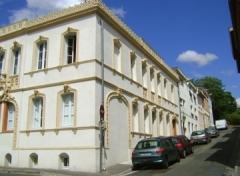 Maison en terre cuite de Virebent - English: home with decor in terracotta, XIXth century. Toulouse (France). Architect: Jacques-Pascal Virebent
