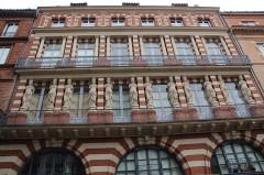 Maison en terre cuite de Virebent - Français:   Rue des marchands, Toulouse