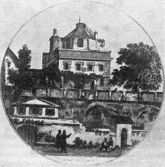 Ancien observatoire - Français:   Le deuxième Observatoire astronomique de Garipuy, utilisé de 1770 à 1841.
