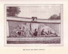 Ponts jumeaux enjambant le canal du Midi et le canal de Brienne - English: 19th century drawings of Toulouse