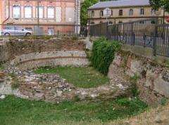 Rempart gallo-romain - English: Gallo-roman City walls, Toulouse (France), 1st century