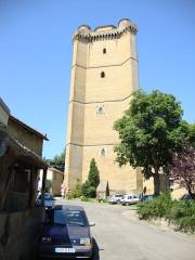 Ancien château - Français:   Bassoues (Gers) donjon