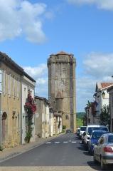 Ancien château - Français:   Donjon du château de Bassoues