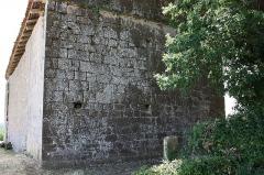 Eglise d'Auban - Français:   Castelnavet - Eglise d\'Auban - Façade Ouest