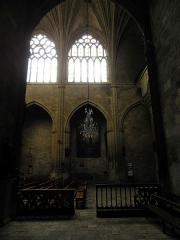 Ancienne cathédrale, actuellement église Saint-Pierre - Intérieur de la cathédrale Saint-Pierre de Condom (32).