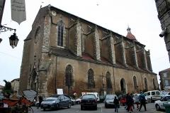 Eglise Saint-Luperc -  Eauze, Gers, France. Cathédrale Saint-Luperc.