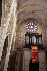 Eglise Saint-Luperc -  Eauze, Gers, France. Cathédrale Saint-Luperc interior.