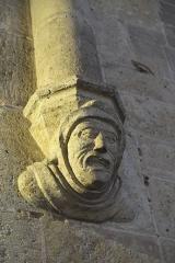 Eglise Saint-Laurent - Deutsch: Katholische Kirche Saint-Laurent in Fleurance im Département Gers (Okzitanien/Frankreich), Konsole