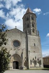 Eglise Saint-Laurent - Deutsch: Katholische Kirche Saint-Laurent in Fleurance im Département Gers (Okzitanien/Frankreich)