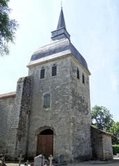 Eglise - Français:   Galiax - Église Saint-Michel - Tour-clocher