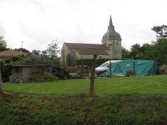 Eglise - Français:   église de Galiax