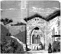 Fontaine du 13e siècle -  Fontaine de Délice (sic), en réalité fontaine Diane à Lectoure (Gers, France), gravure anonyme, in Eugène Trutat, Le Midi pittoresque, Limoges, M. Babou & Cie