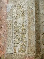 Eglise Saint-Mamet - Français:   Peyrusse-Grande - Eglise Saint-Mamet - Chevet - Fenêtre de l\'abside