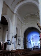 Eglise Saint-Mamet - Français:   Peyrusse-Grande - Eglise Saint-Mamet - Vaisseau central et collatéral