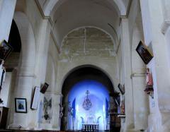 Eglise Saint-Mamet - Français:   Peyrusse-Grande - Eglise Saint-Mamet - Nef centrale