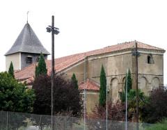 Eglise Saint-Mamet - Français:   Peyrusse-Grande - Eglise Saint-Mamet - Ensemble