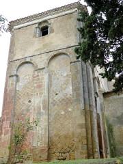 Eglise Saint-Mamet - Français:   Peyrusse-Grande - Eglise Saint-Mamet - Chevet roman