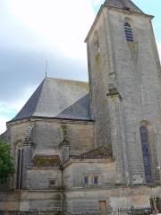 Eglise Saint-Pierre - Assier - Église Saint-Pierre - Chevet, clocher et sacristie