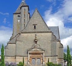 Eglise Saint-Pierre - Assier - Église Saint-Pierre - Façade occidentale
