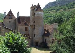 Ancien château de Limargue - English: Autoire, Lot, FRANCE