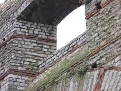 Arc de Diane et ses abords -  Détail de l'arc de Diane, Cahors