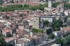 Ancien palais de Via connu sous l'appellation Château du Roi, actuelle prison d'Etat -  Cahors - 02082013 - Palais de Via