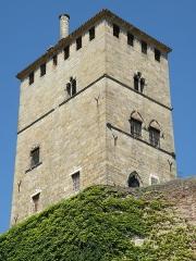 Ancien palais de Via connu sous l'appellation Château du Roi, actuelle prison d'Etat - Français:   Cahors (Lot, France). Palais de Via, ou Château du Roi.