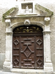 Ancien couvent des Soeurs de Gramat - Français:   Cahors (Lot, France). Couvent des Sœurs de Gramat, rue des Soubirous.