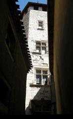 Maison - Français:   Cahors (Lot, France). Collège universitaire Pélegri.
