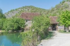 Moulin fortifié de Cognaguet - English: Moulin de Cougnaguet, Calès, Lot, France