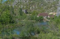 Moulin fortifié de Cognaguet - English: Moulin de Cougnaguet in Calès, Lot, France