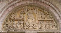 Eglise et son cloître - Català: Priorat de Carennac. Timpà. Òlt, França