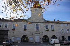 Hôtel de ville - English: Town hall of Castelnau-Montratier (Lot, France).
