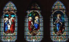 Chapelle Notre-Dame-de-Pitié - Français:   Figeac - Chapelle Notre-Dame-de-Pitié - Vitraux
