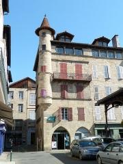 Maison Sisteron - Français:   Maison de Pierre de Cisteron (Figeac)