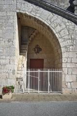 Eglise Saint-Clair -  Eglise de Fontanes - 20140926 - Détail du fronton
